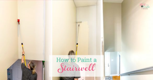 The Inexpensive Way to Paint a Stairwell
