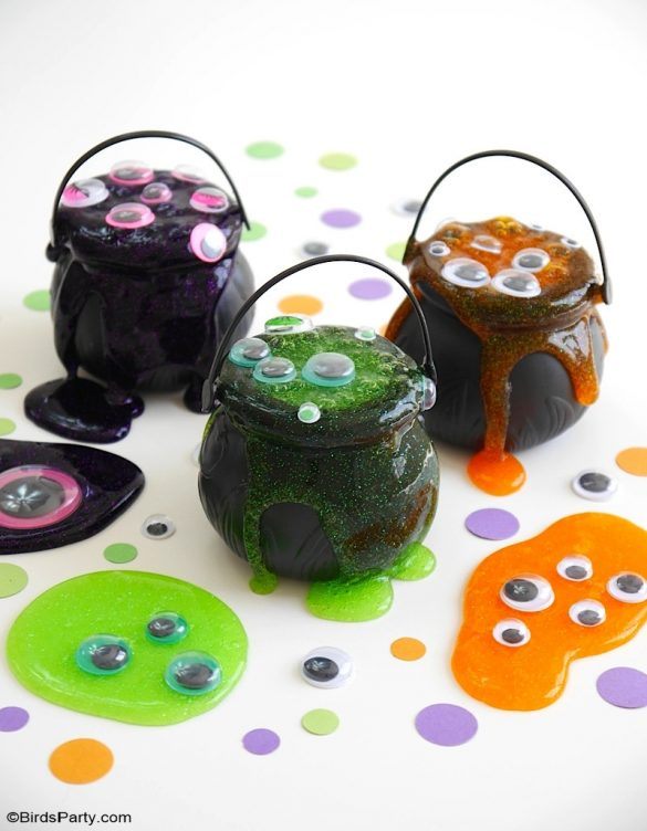 Quick and Easy Halloween Slime Recipe For Kids