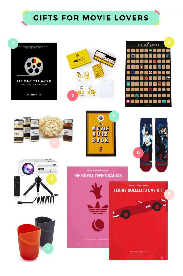 GIFT IDEAS FOR MOVIE LOVERS