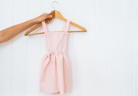 DIY Little Girl Cross Back Dress
