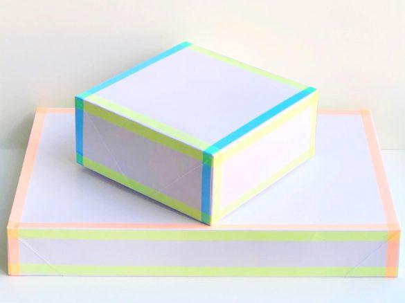 Neon Tape Gift Box