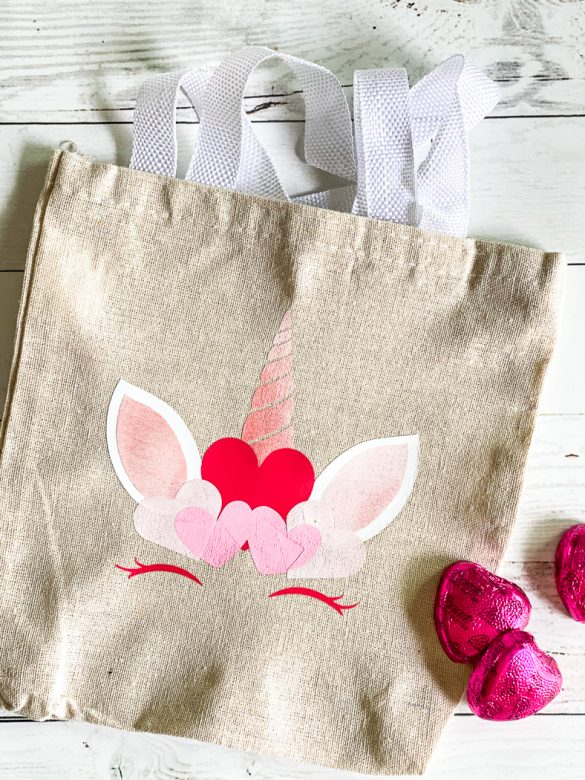 Free Valentine's Day Unicorn SVG