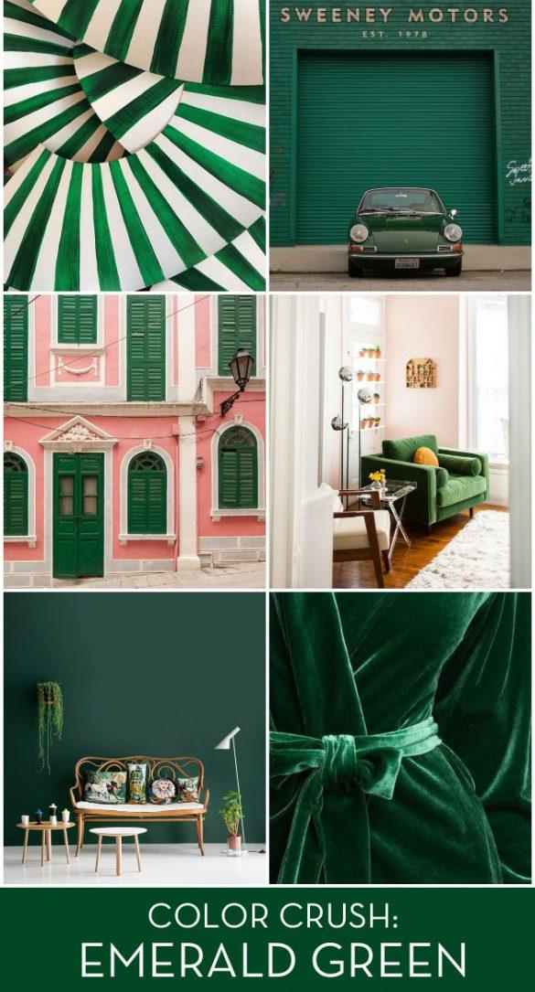 Color Crush: Emerald Green