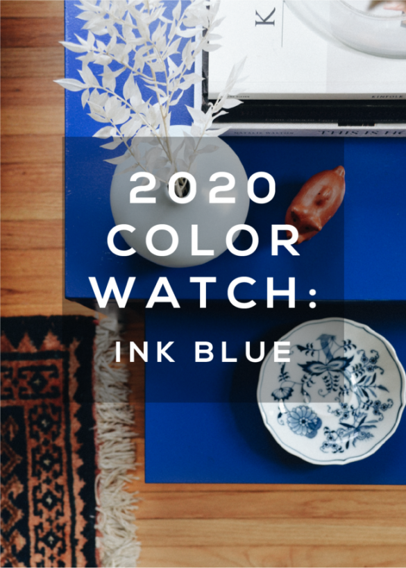 2020 Color Watch: An Ode to Blue