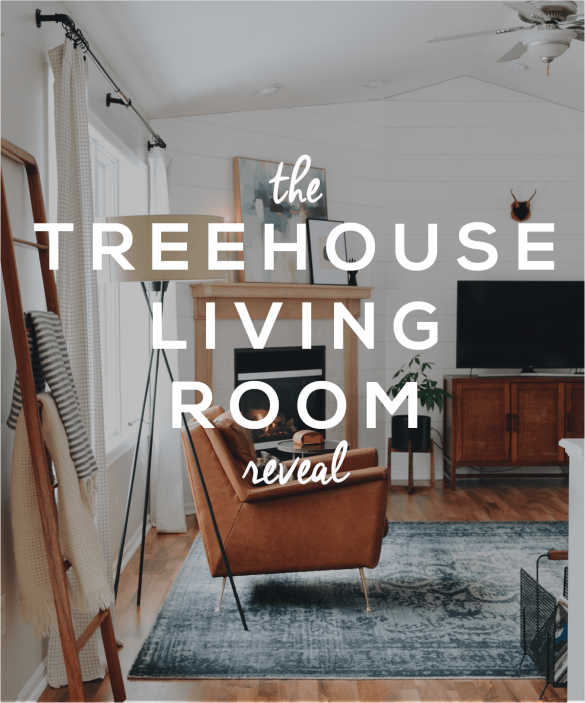 Treehouse Living Room Tour