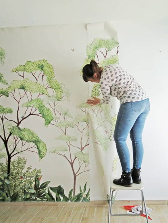 How to wallpaper – The easy way