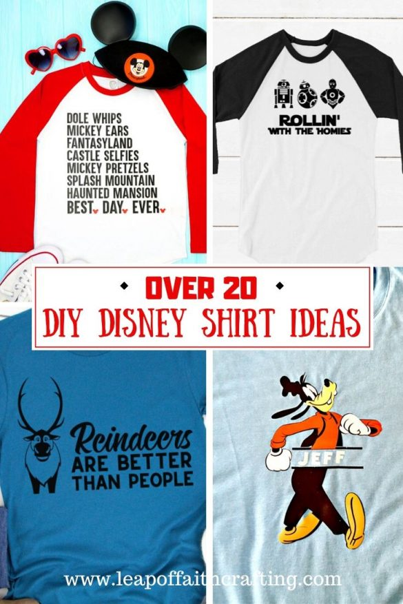 Free Disney SVG Files Plus How to Make Personalized Disney Shirts for Cheap!