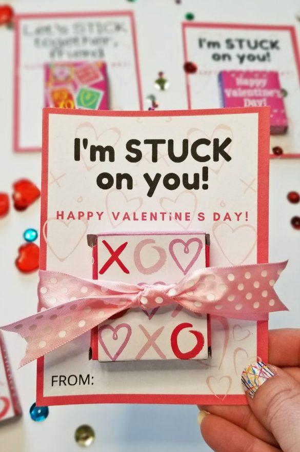 School Valentine Cards:  FREE Valentines Printables for Classmates!