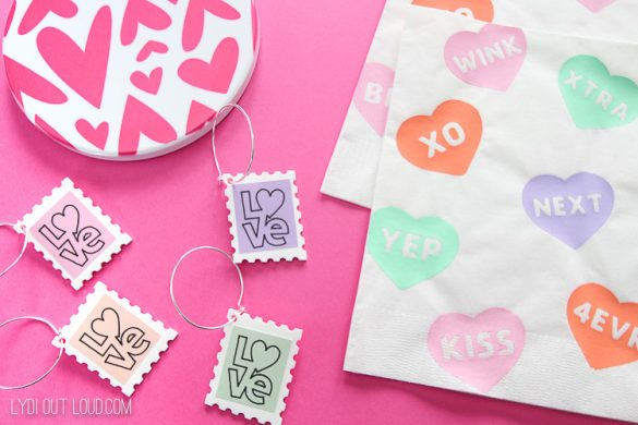 DIY Valentine's Day Crafts with a Cricut