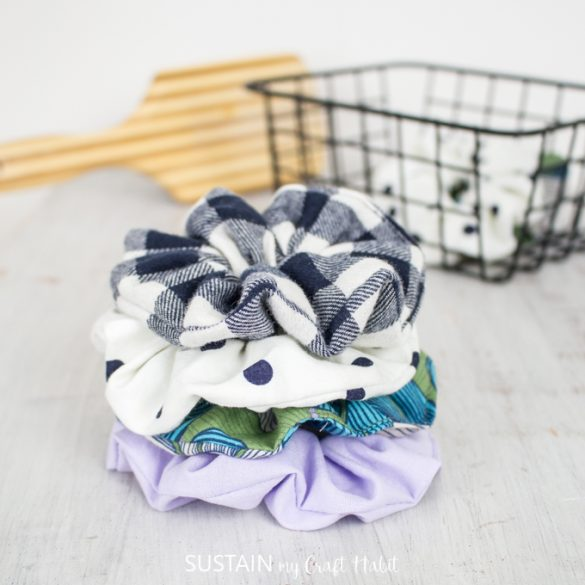 How to Make a Scrunchie 3 Different Ways