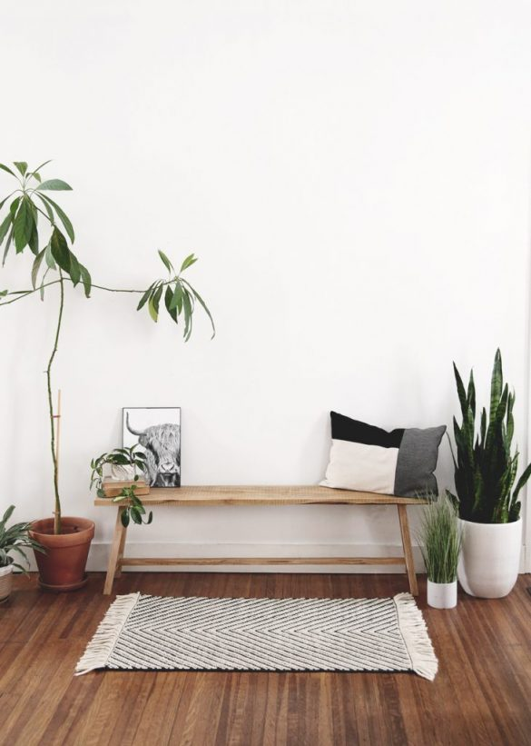 DIY Modern Rustic Bench