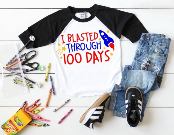 100 Days of School SVG Collection