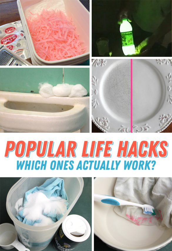 Pinterest Tested: I Tested These Life Hacks. Some Worked, Some Didn't!