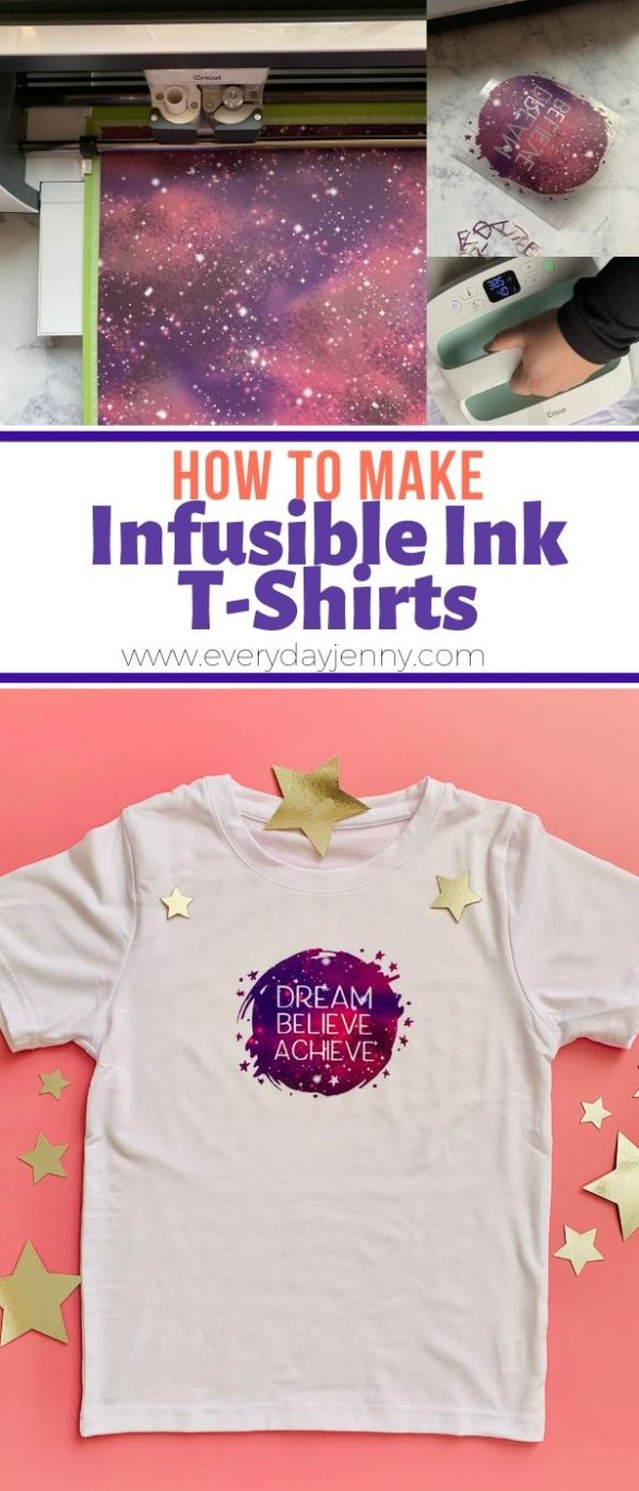 HOW TO MAKE CRICUT INFUSIBLE INK T-SHIRTS
