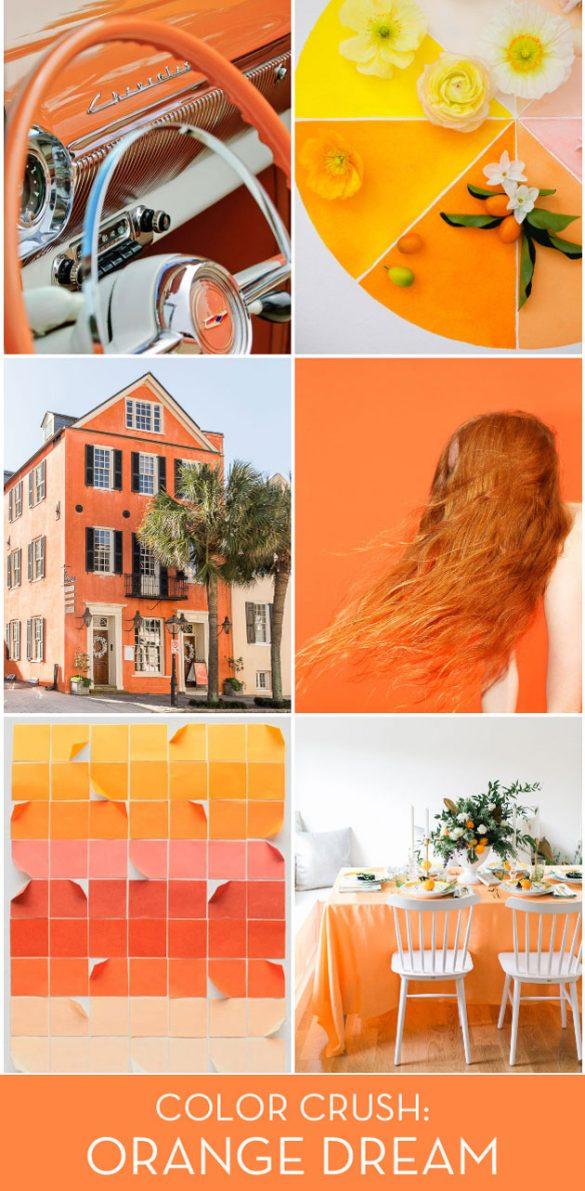 Color Crush: Orange Dream