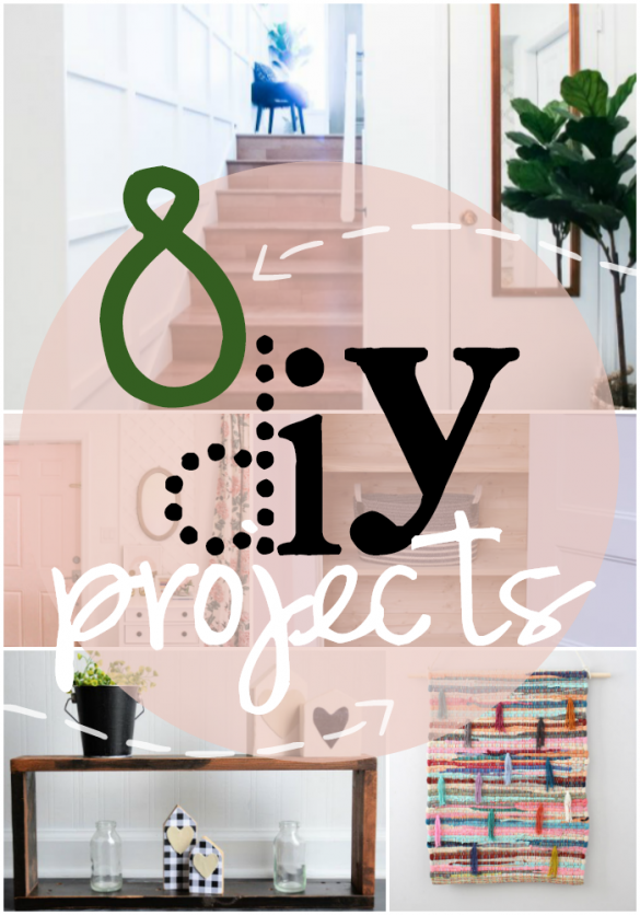8 DIY Projects for Your Home