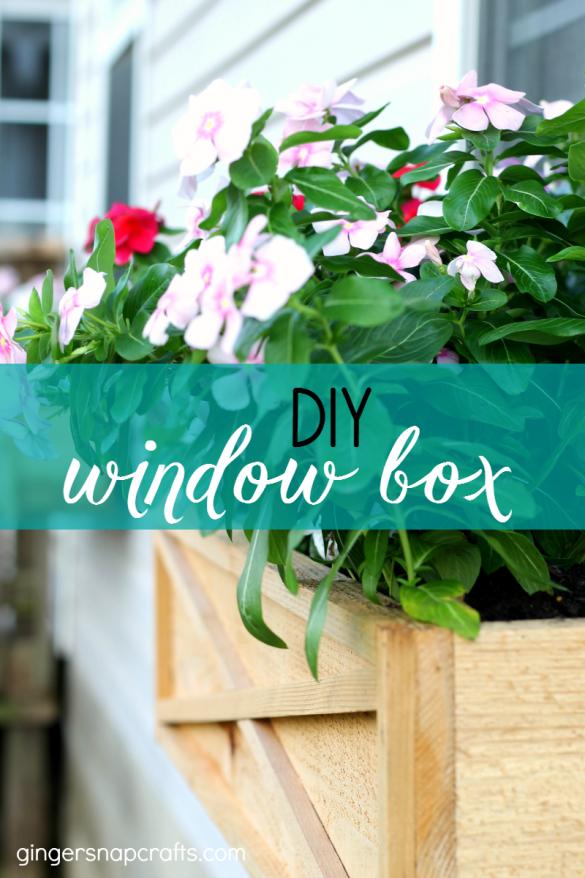 DIY Cedar Window Boxes {tutorial}