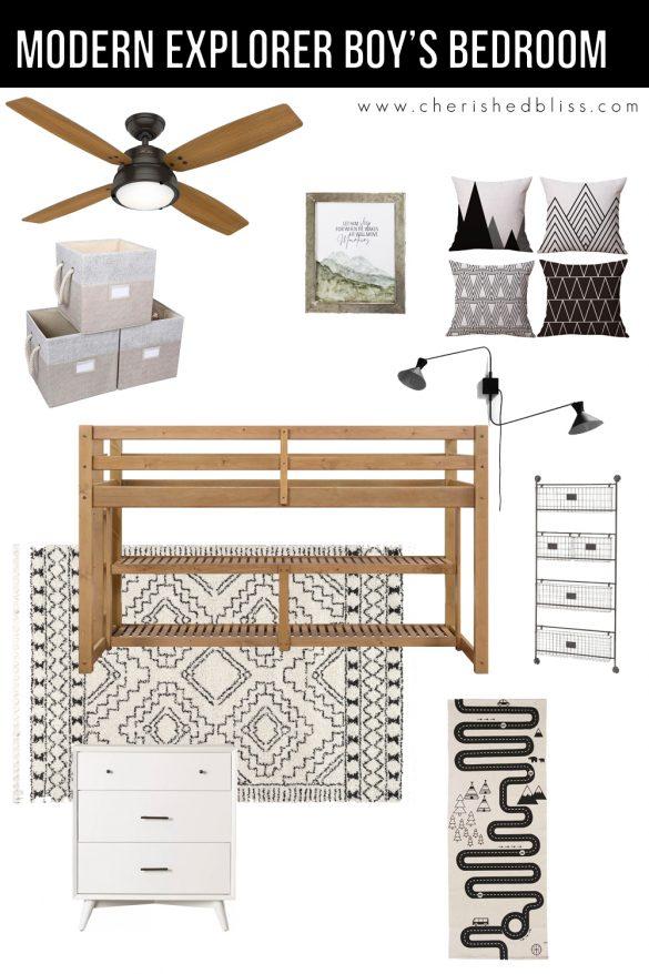 Boy's Small Bedroom Design & Decor Ideas
