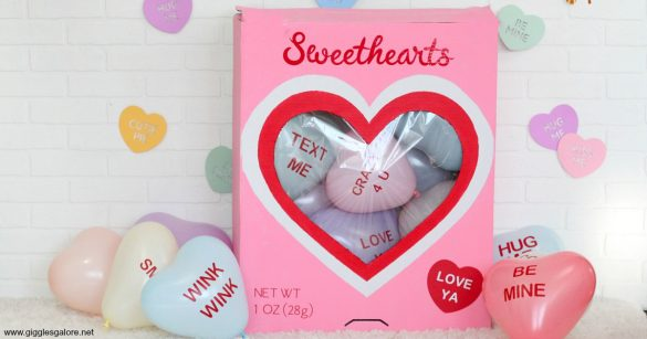 DIY Cricut Conversation Heart Valentine's Day Party
