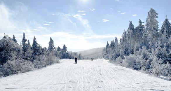 Okemo Mountain Ski Resort in Ludlow, Vermont