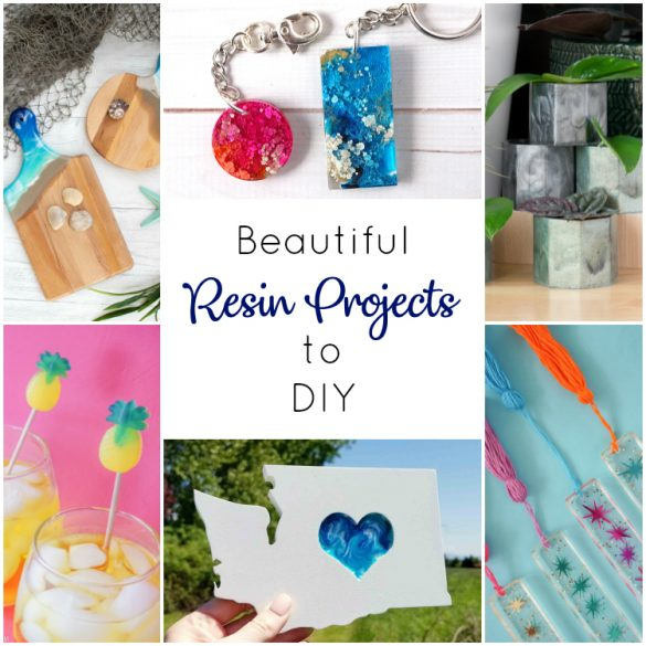 Try Resin Crafting with these Beautiful Projects