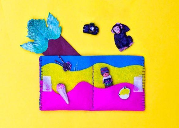 Kids Craft: DIY Kids Wallet Sewing Pattern