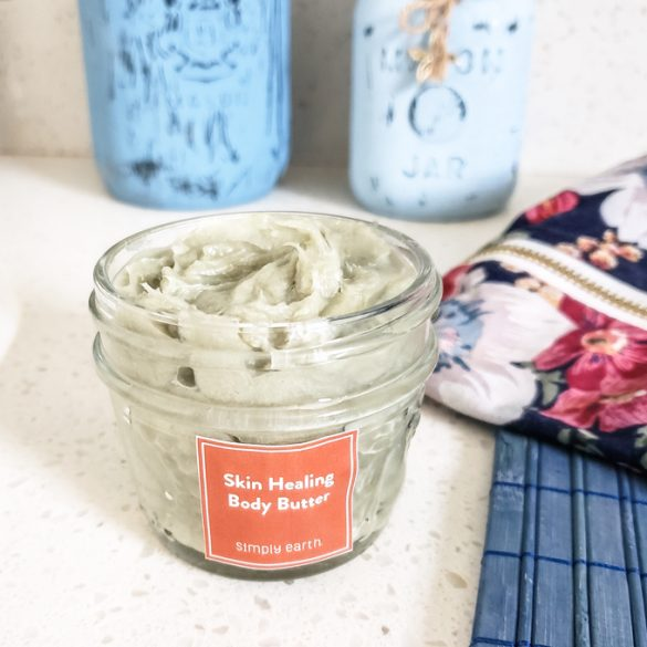Skin Healing DIY Body Butter with Simply Earth