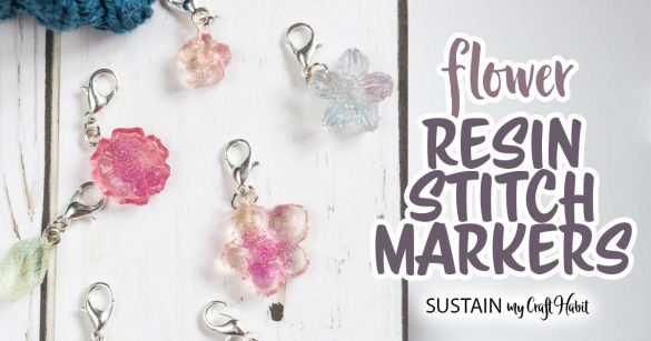 How to Make Pretty DIY Stitch Markers with Resin