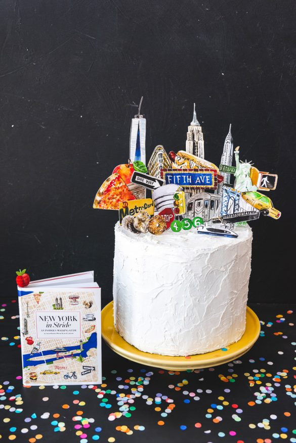 New York Cake Topper