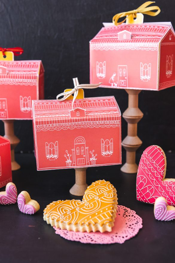 Valentines Gift Box with Arlo Cookies