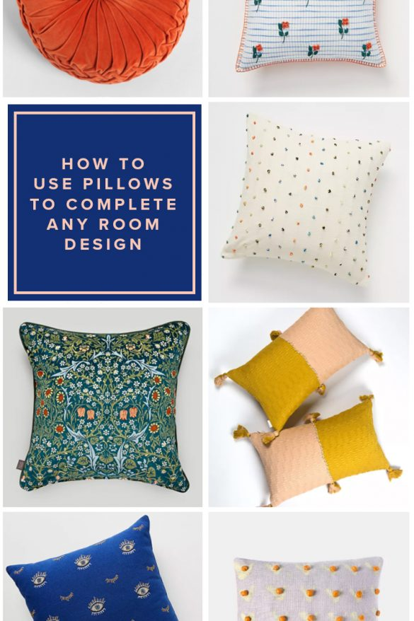 How to Use Pillows to Complete Any Room Design