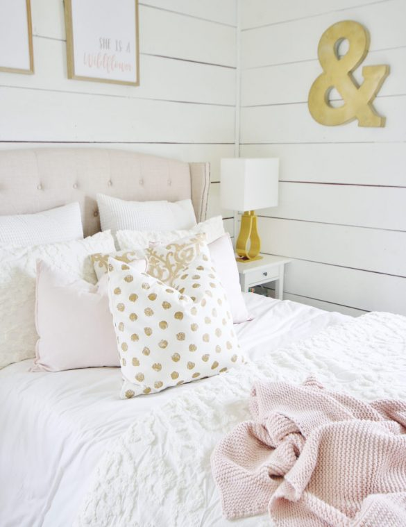Bedroom Makeover Before and After On a Budget