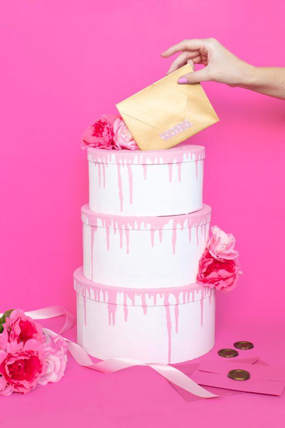 Tiered Cake Card Box DIY