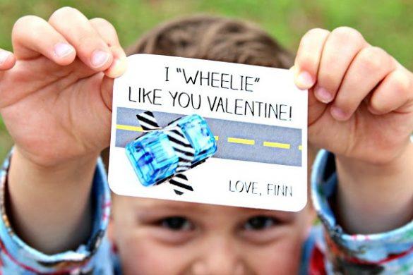 Free Printable Car Valentine