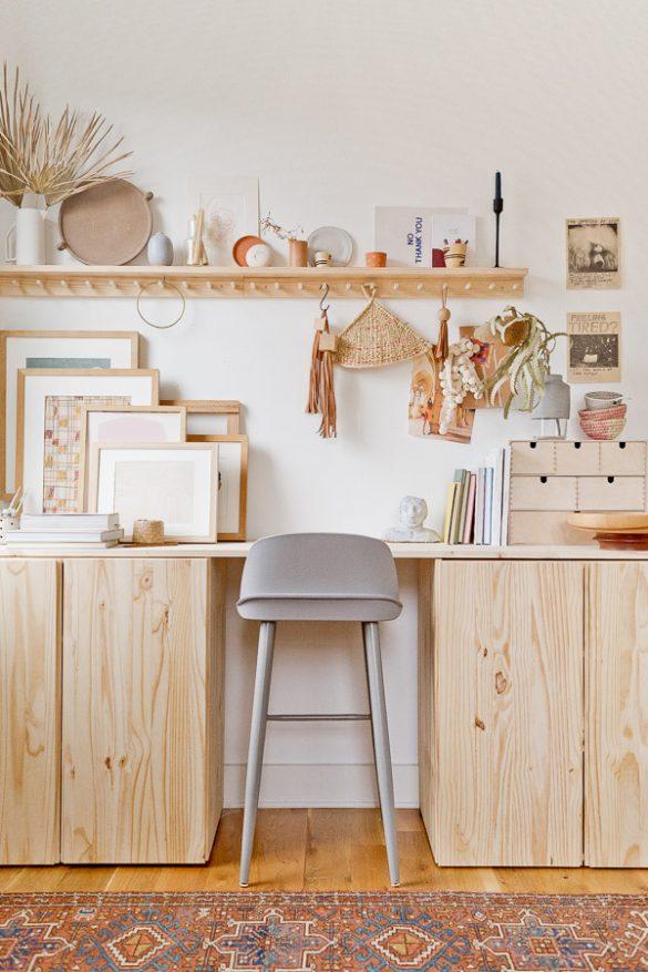 Stand Up: A DIY Standing Desk (Ivar Ikea Hack)