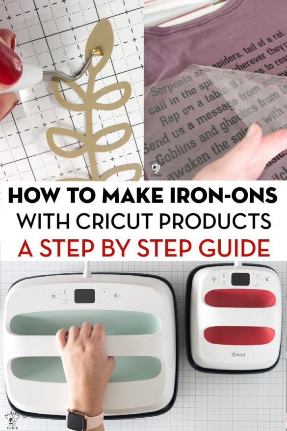 How to use Iron-On Vinyl & the Cricut EasyPress