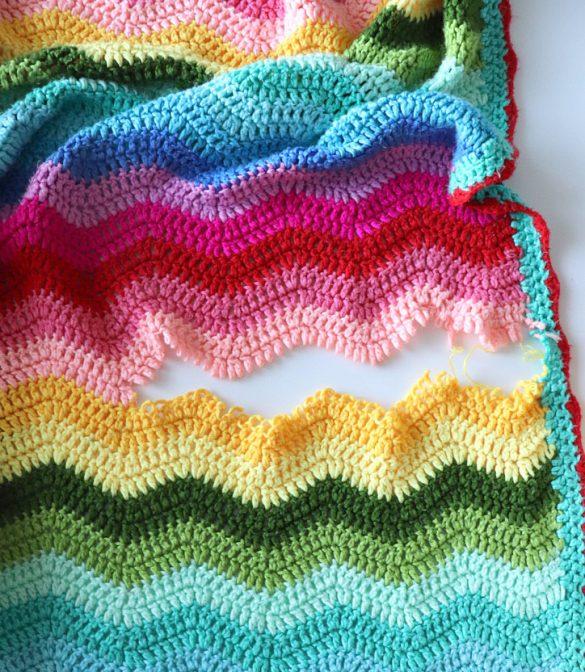 Fixing a Torn Crochet Blanket