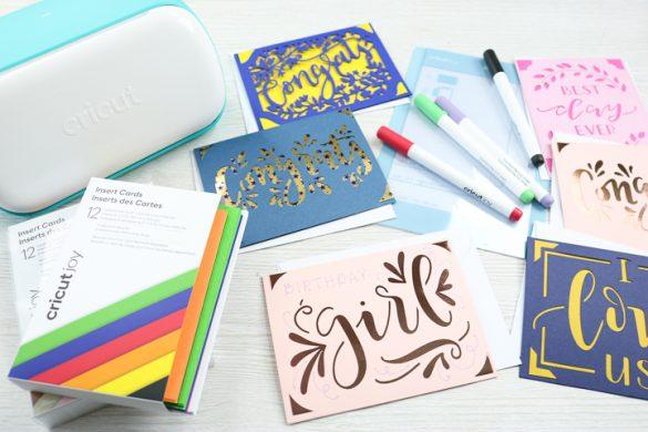 Making Cards with the Cricut Joy Card Mat