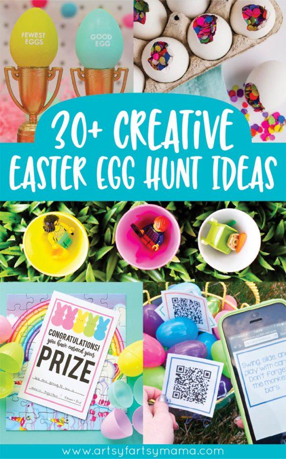 30+ Creative Easter Egg Hunt Ideas