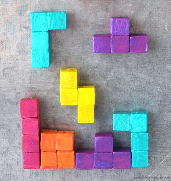 DIY Tetris Magnets