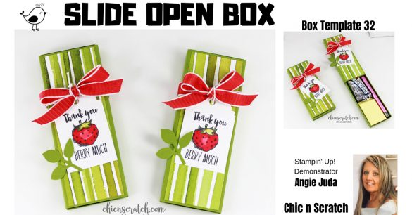 Slide Open Box
