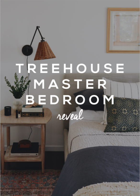 Treehouse Master Bedroom Tour