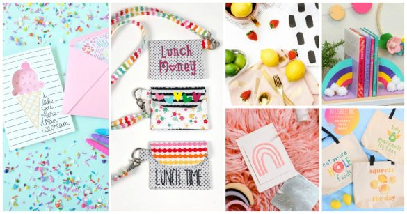 10 Cricut Crafts to Make Using Materials You Have at Home
