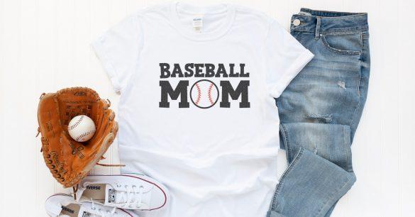Free Baseball Dad and Baseball Mom SVG Files