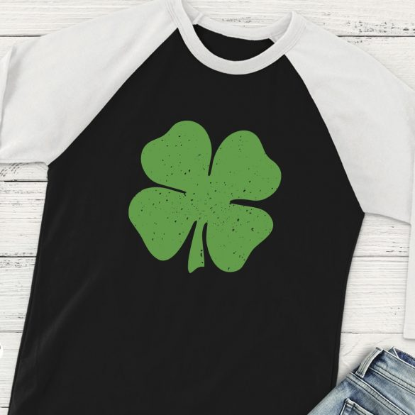 Distressed Clover St. Patrick's Day SVG