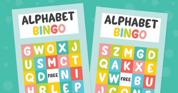 Alphabet Bingo Printable Game