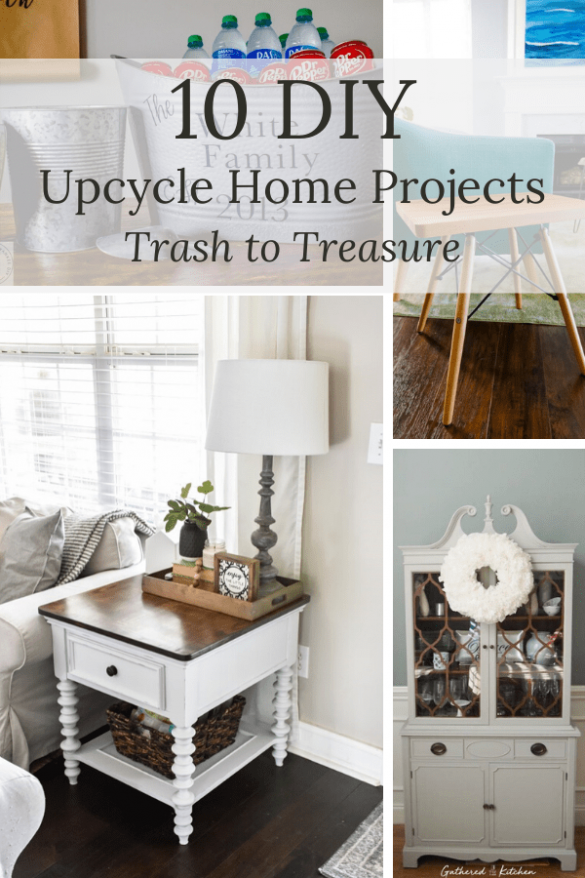 10 DIY Upcycle Home Projects