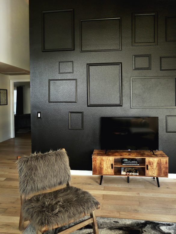 Favorite Accent Wall Decor to Hide a TV
