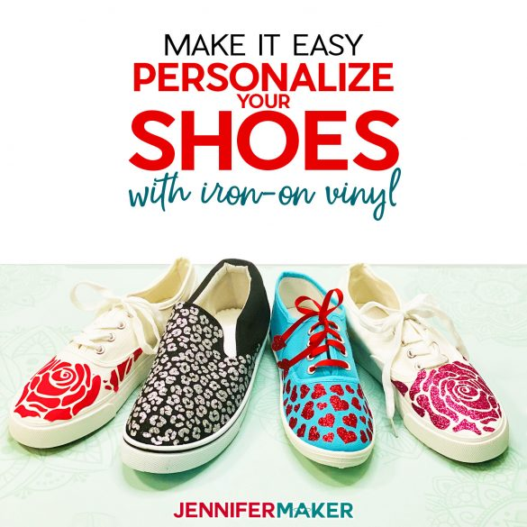 Personalize Your Shoes: Iron On Vinyl (HTV) on Canvas Sneakers!