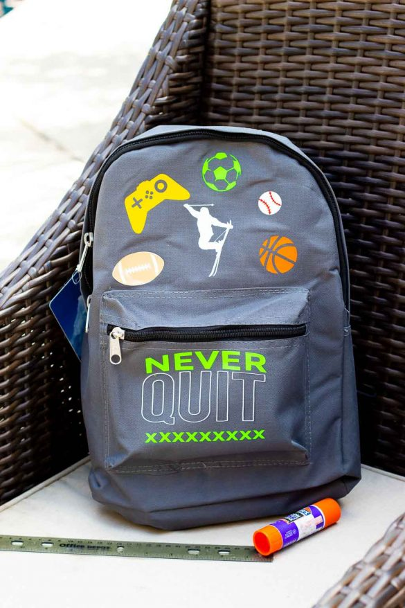 Make Your Own Custom Backpack with a Cricut!